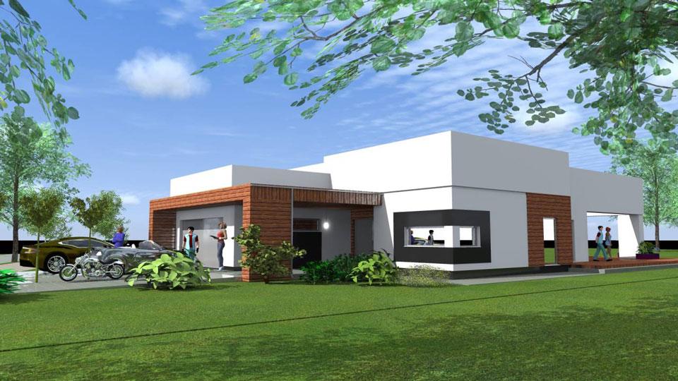 projekt-domu-z-plaskim-dachem-piotrkow-tryb-1